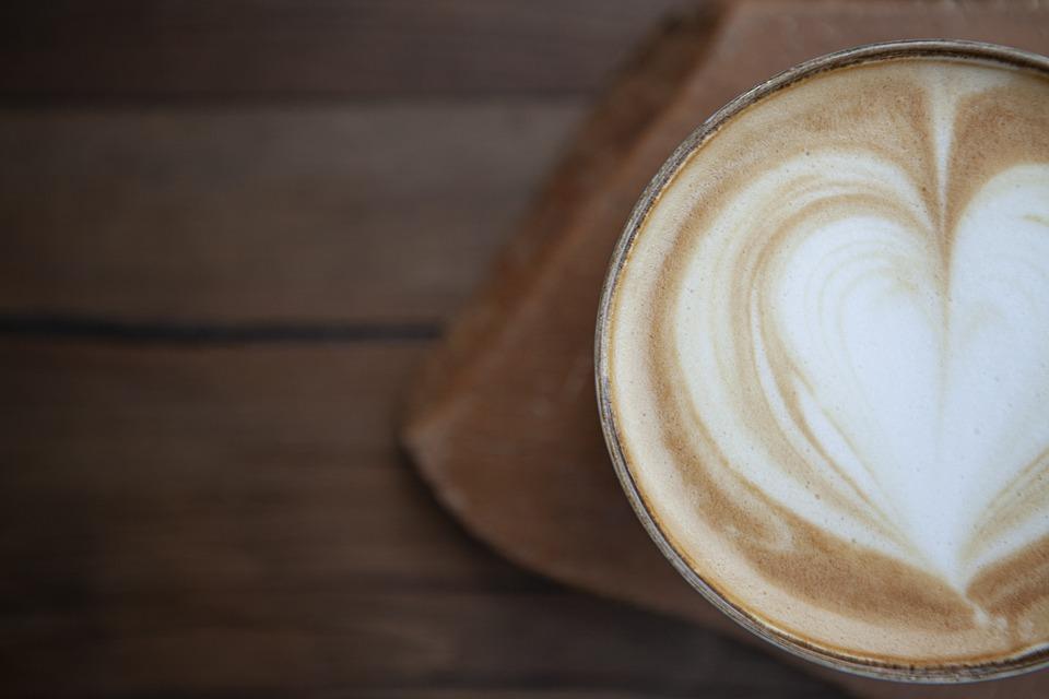 Coffee, Cappuccino, Latte Art, Coffee Art, Heart, Foam
