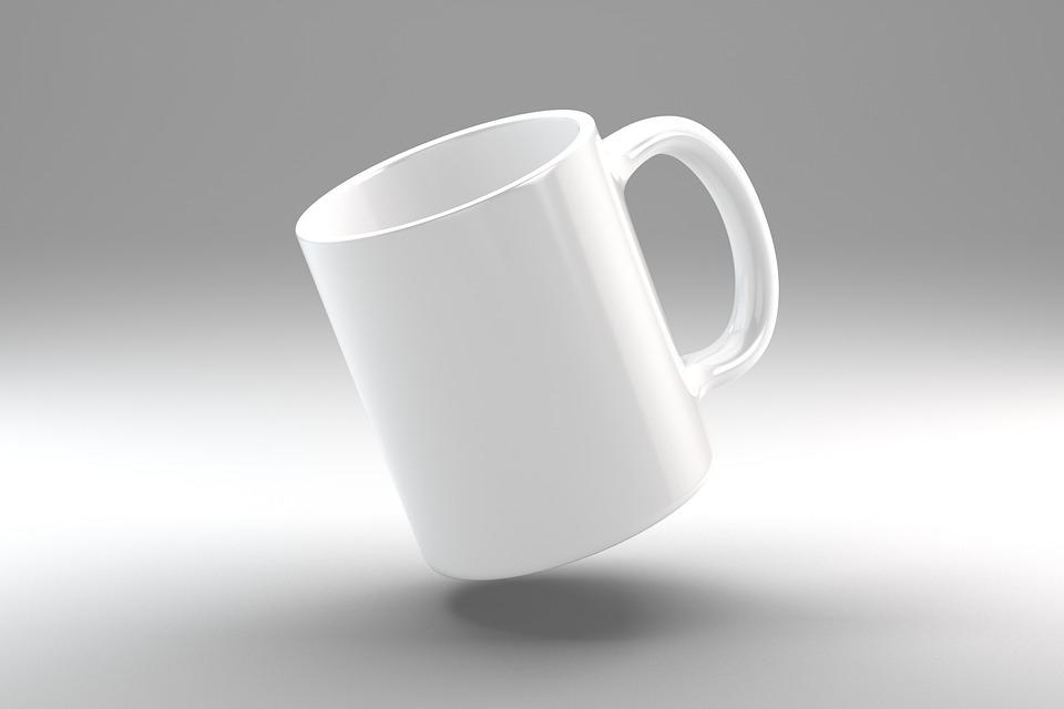 Mug, Cup, Ceramic, Mockup, Coffee Mug, 3d, Drink