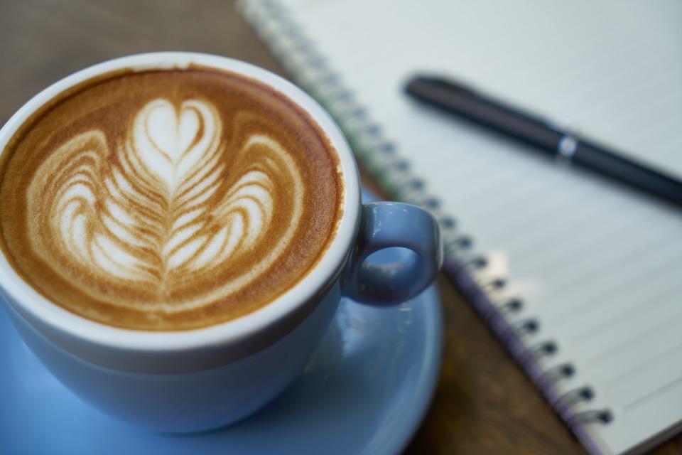 Coffee, Pen, Notebook, Caffeine, Work, Cup, Espresso