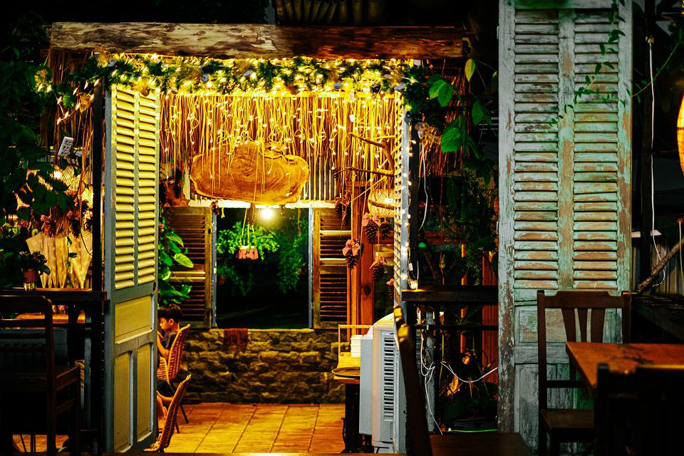 Coffee Shop, Restaurant, Business, Decor, Furniture