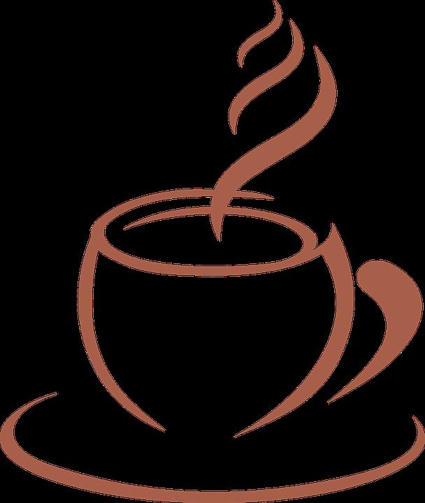 Coffee, Template, Stylized