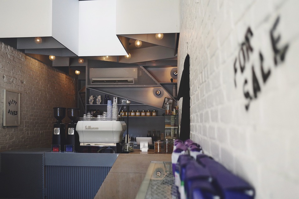 Coffeehouse, Bar, Shop, Cafe, Espresso, Machine, Cups