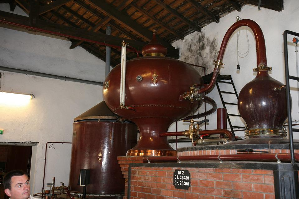 Brewery, Cognac, Equipment, Production, Factory, France
