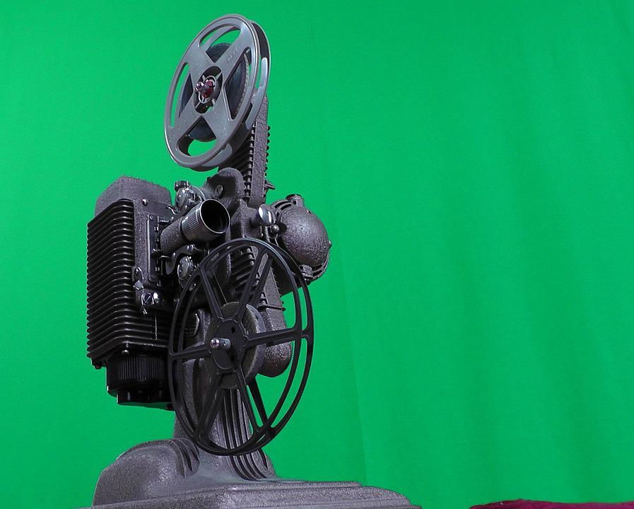 Projector, Cinema, Coil, Film, Projection