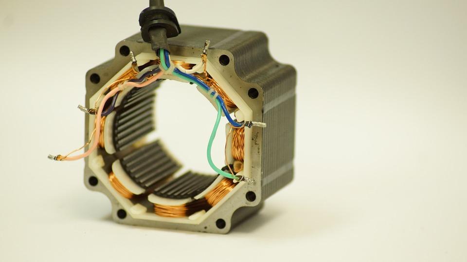 Motor, Coil, Technology, Stepper Motor, The Stator