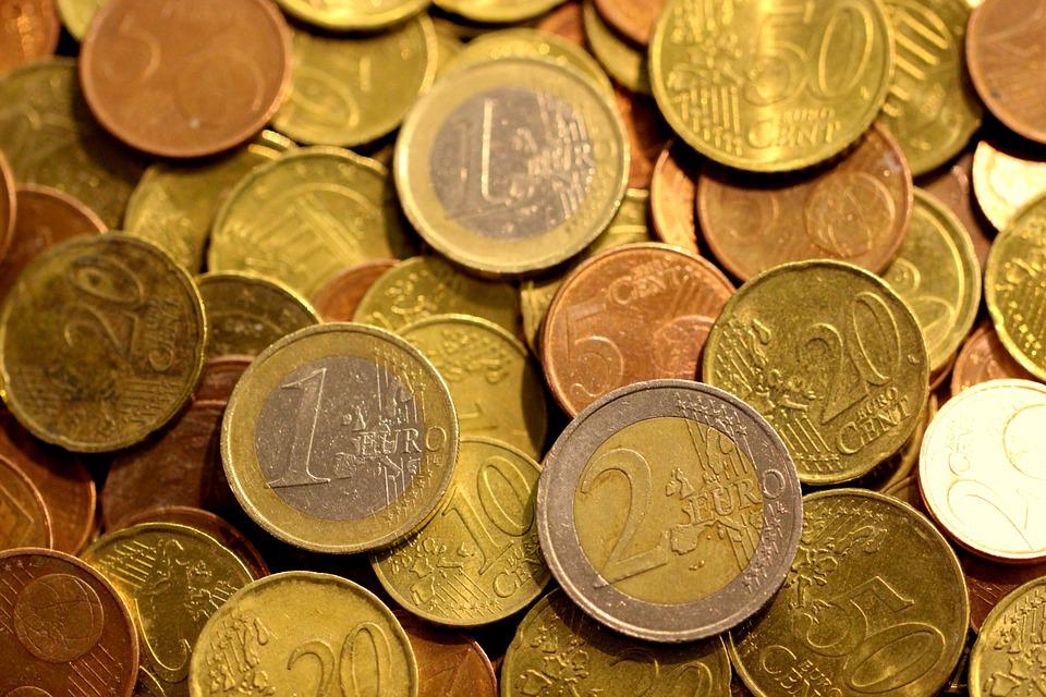 Money, Coin, Euro, Cash, Currency, Bank, Finance