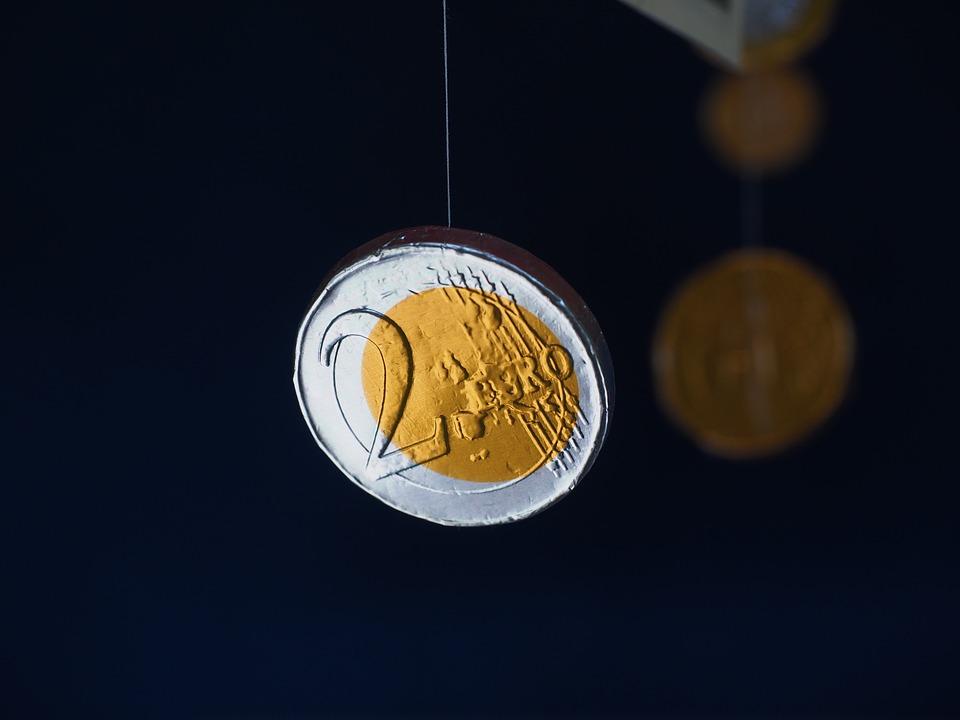 Coin, Euro, Money Taler, Chocolate Coin