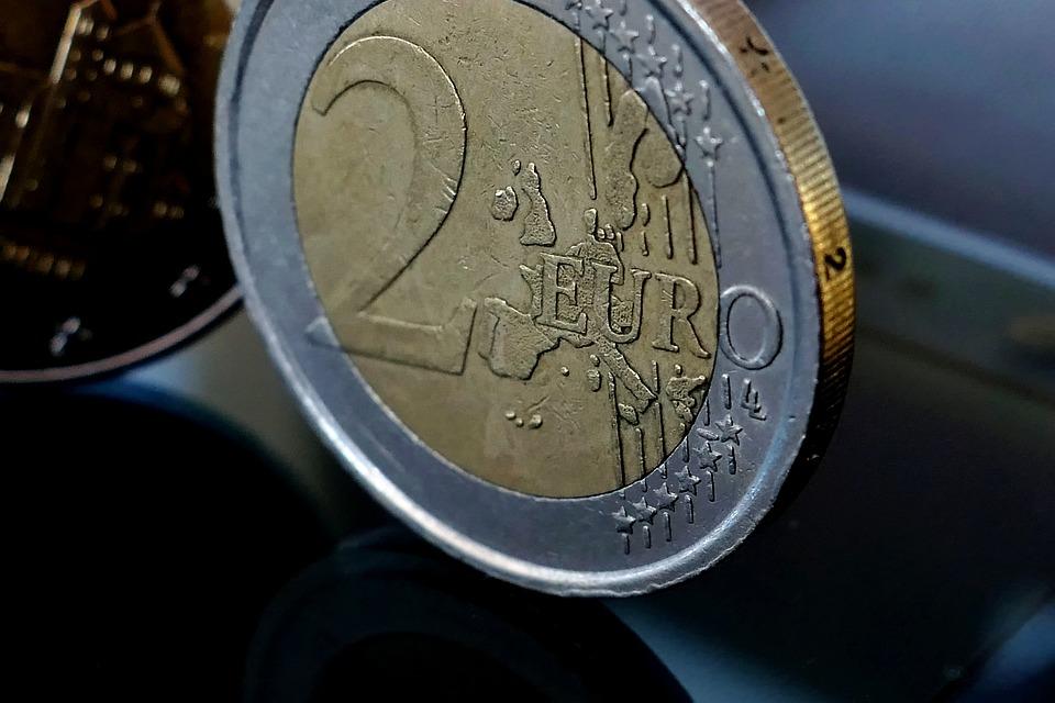 Euro, Coin, Finance, Coins, Europe, Specie, Metal Money
