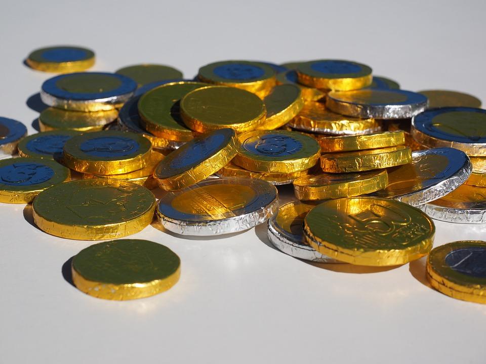 Coins-Euros-Money-Chocolate-Taler-Chocol