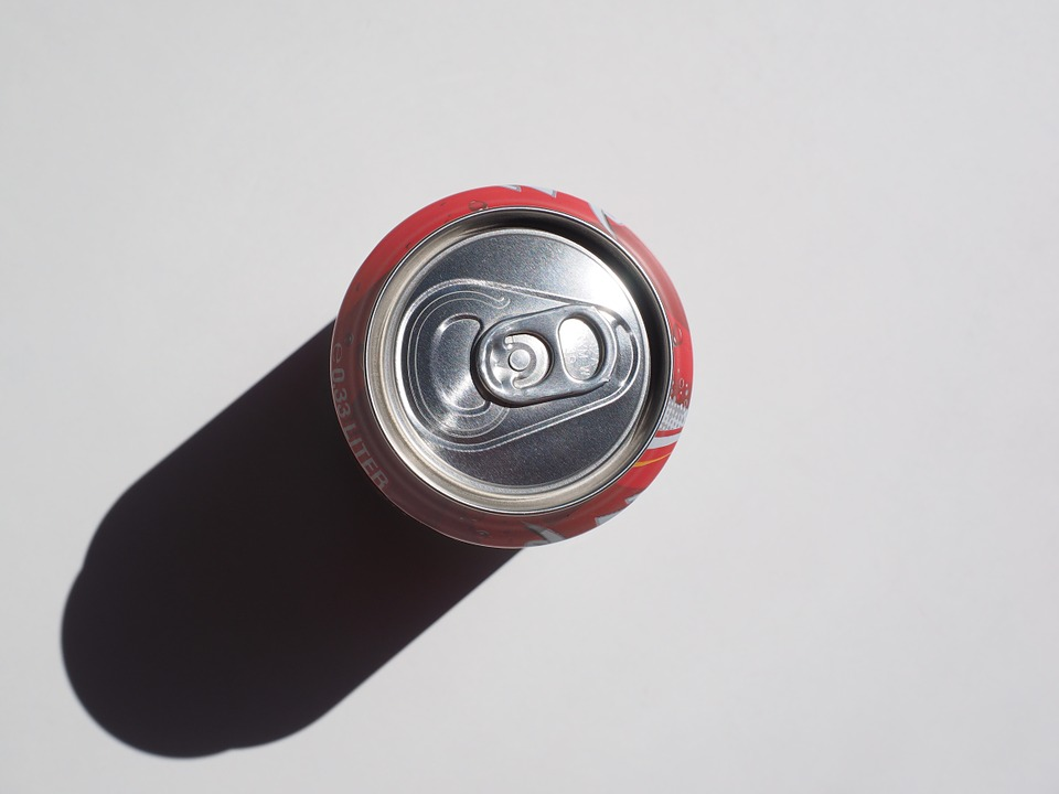 Box, Cola Dose, Supervision, From Above, Cola, Drink