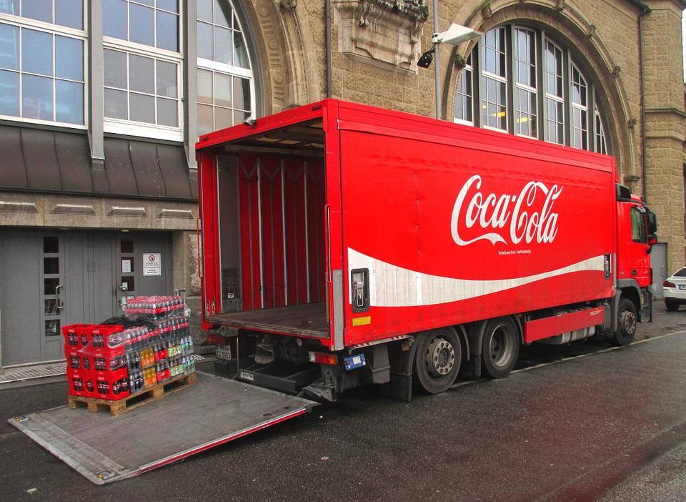 Coca Cola, Cola, Drink, Transport, Truck, Red