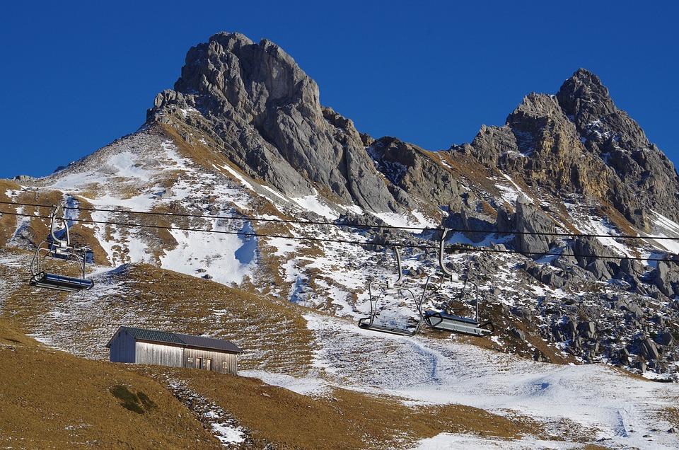 Winter, Lack Of Snow, Cold, Nature, Landscape, Alpine