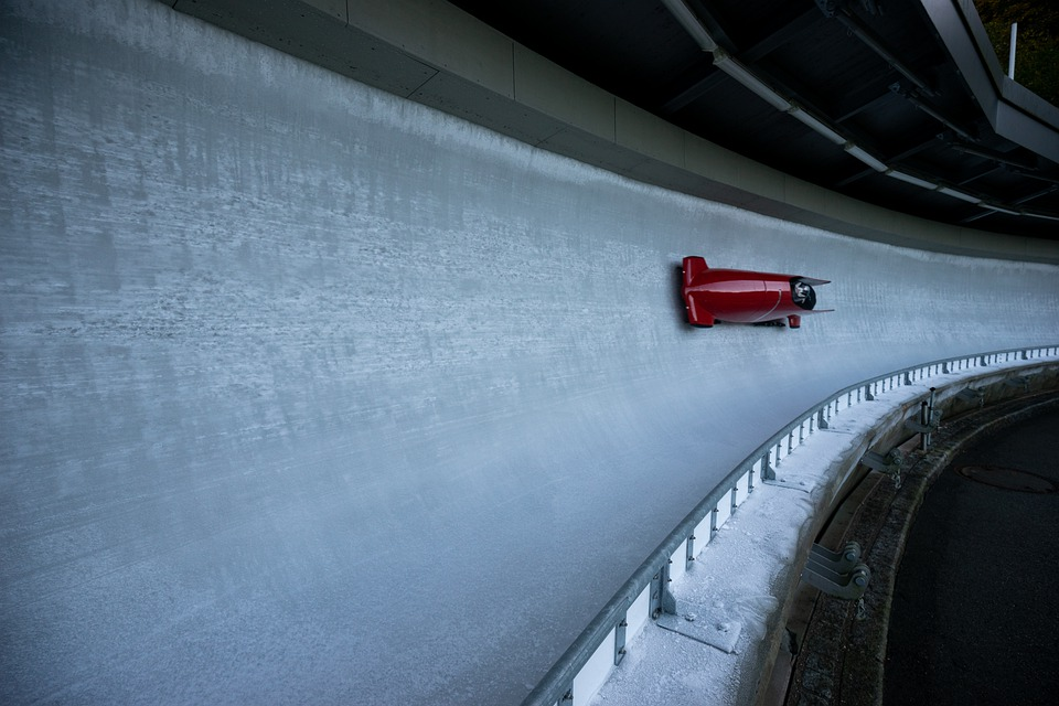 Bobsled, Sport, Winter Sports, Ice, Winter, Snow, Cold