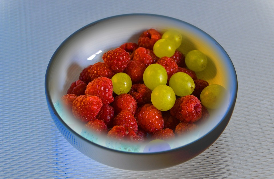 Cold Dish, Lunch, Fruit, Hunger, Cold, Edited