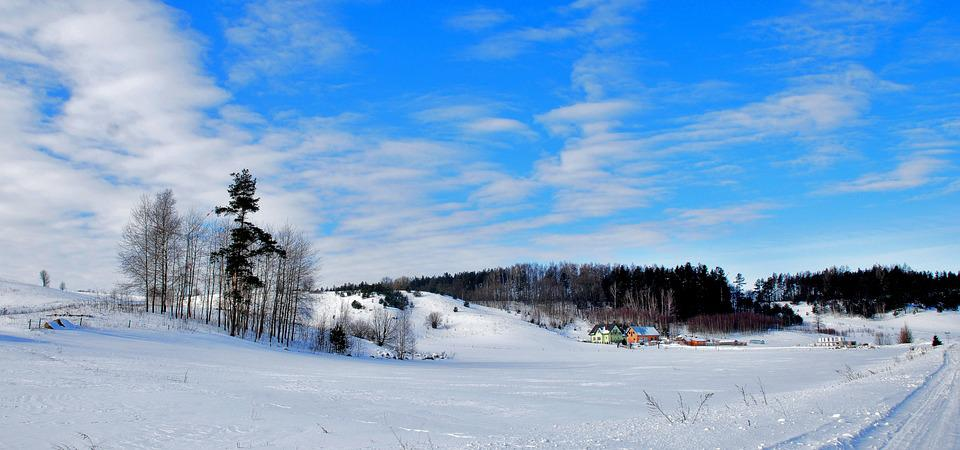 Snow, Winter, Cold, Frozen, Frost, Panoramic, Landscape