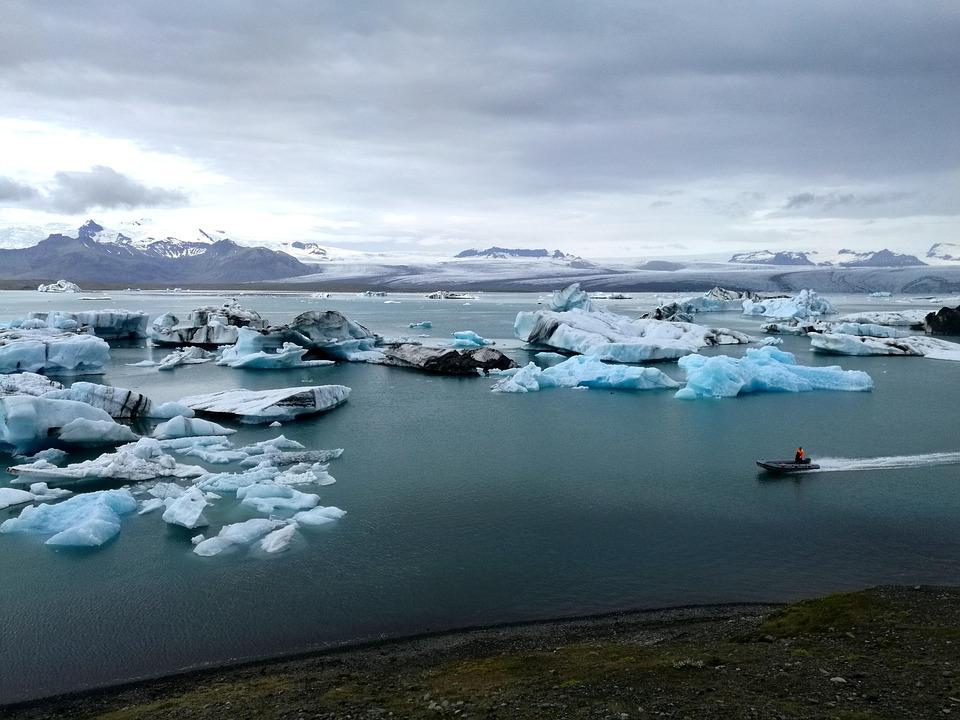 Ice, Iceberg, Glacier, Iceland, Water, Cold, Frozen