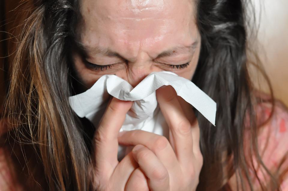 Cold Flu Sniff Immune System