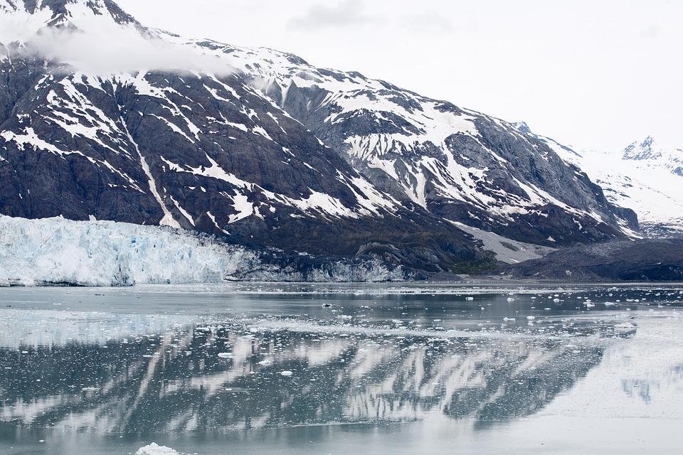 Alaska, Cold, Ice, Water, Reflection, Glacier, Ocean