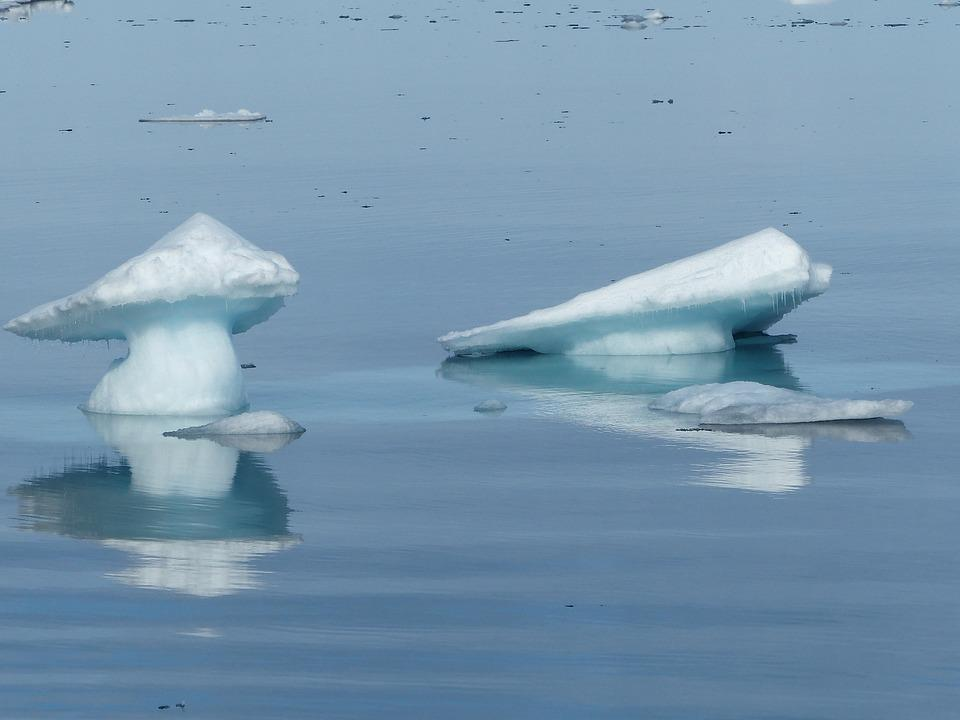 Spitsbergen, Ice Floes, Cold, Ice, Icy