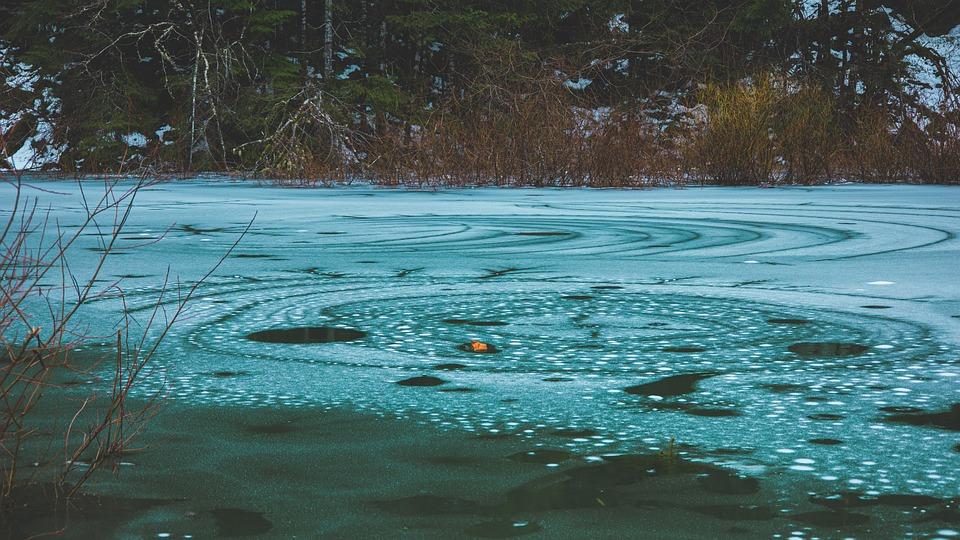 Lake, Frozen, Winter, Snow, Nature, Cold, Landscape
