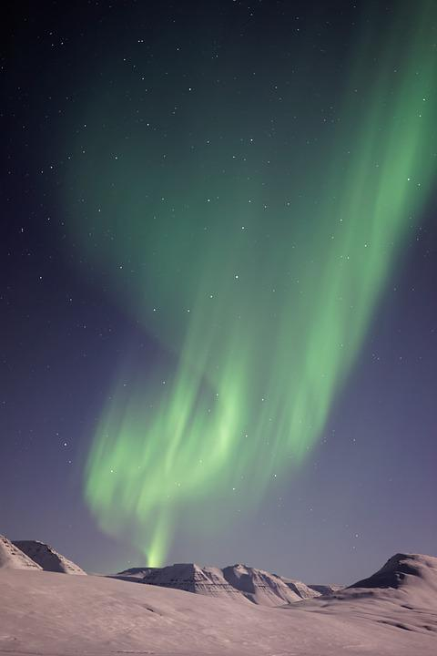 Aurora Borealis, Cold, Landscape, Northern Lights
