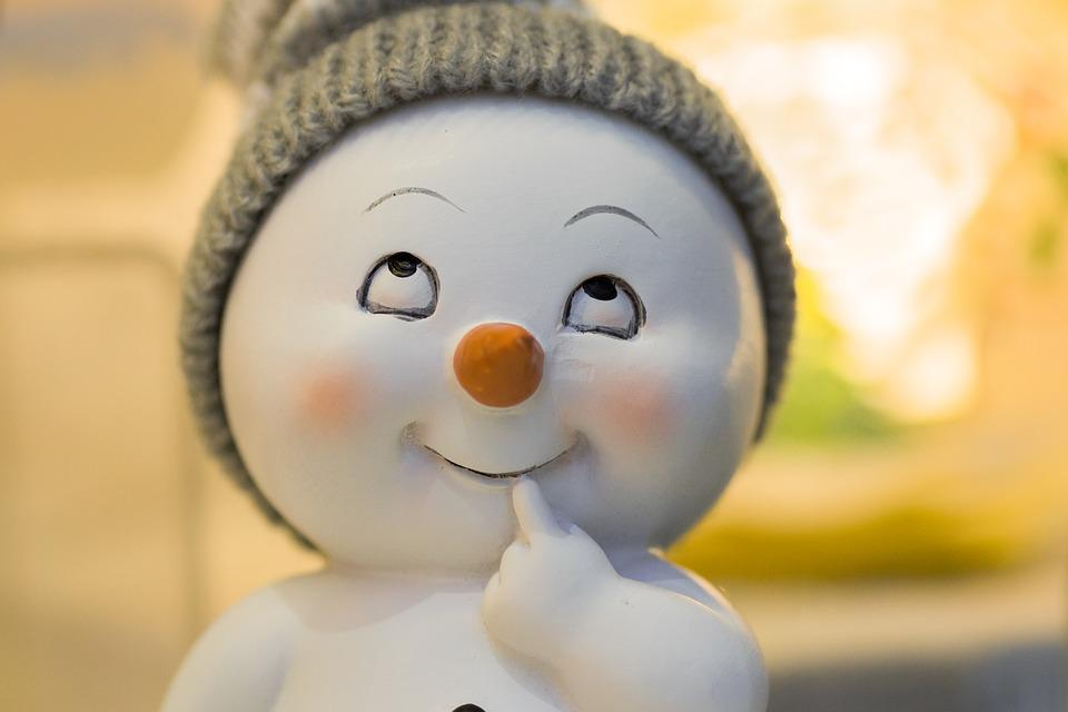 Winter, Snow Man, Gift, Christmas, Wintry, Cold, Snow