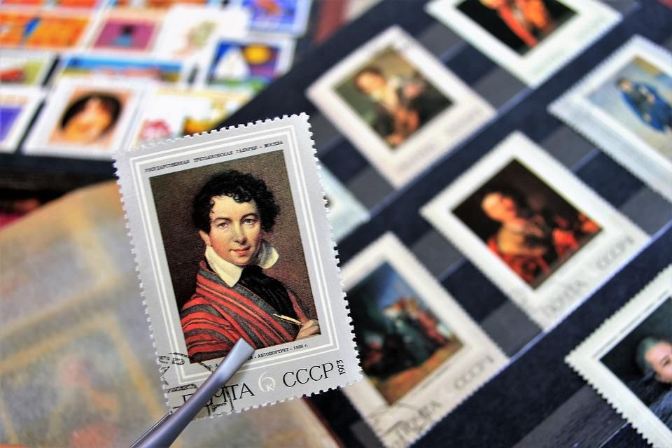 Postage Stamps, Collection, Male, Cccp, The Art Of
