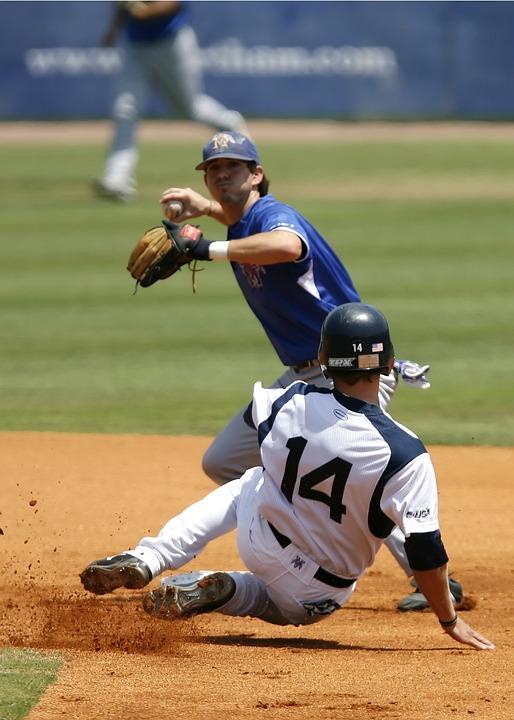 Baseball, College Baseball, Slide Into Second