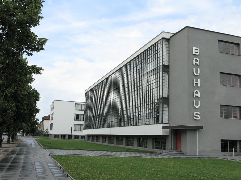 Architecture, Bauhaus, Dessau, College, Gropius
