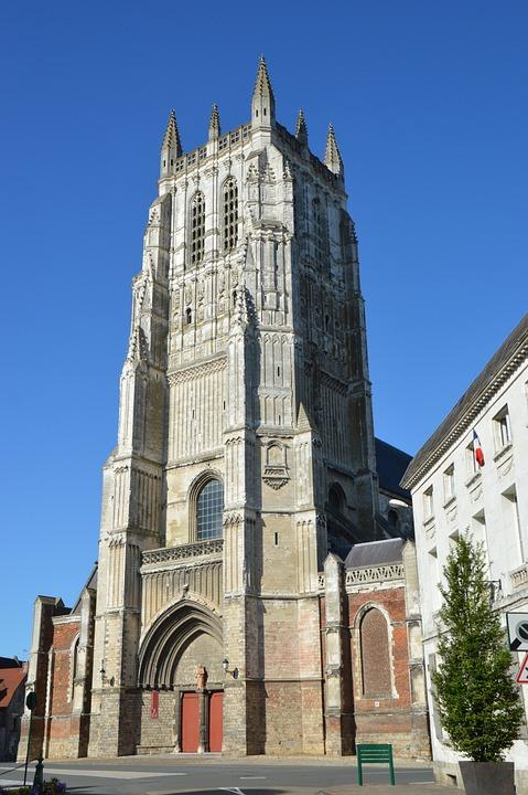 Collegiate, Church, Christian, Monument