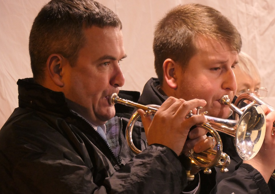Trumpets, Brass Band, Colliery Band, Concert, Marching