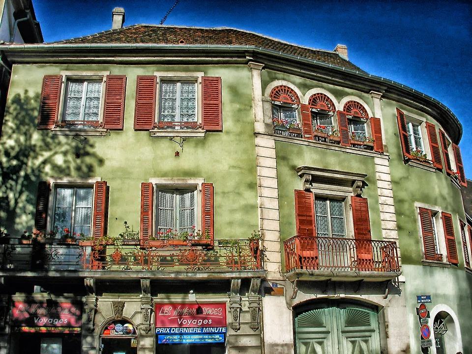 Colmar, France, Building, Apartments, Architecture