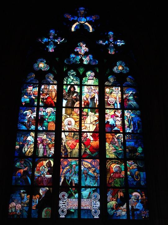 Church, Window, Colors, Coloful, Light, Symbol, Icon