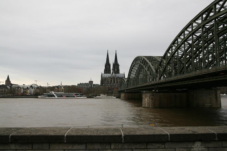 Church, Cologne Cathedral, Bridge, Architecture