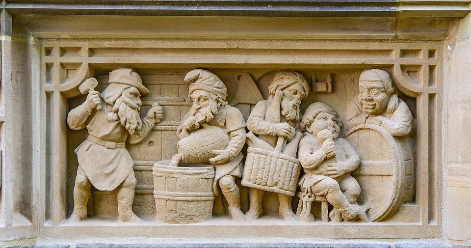 Sandstone, Facade, Old, Cologne, Germany, Landmark