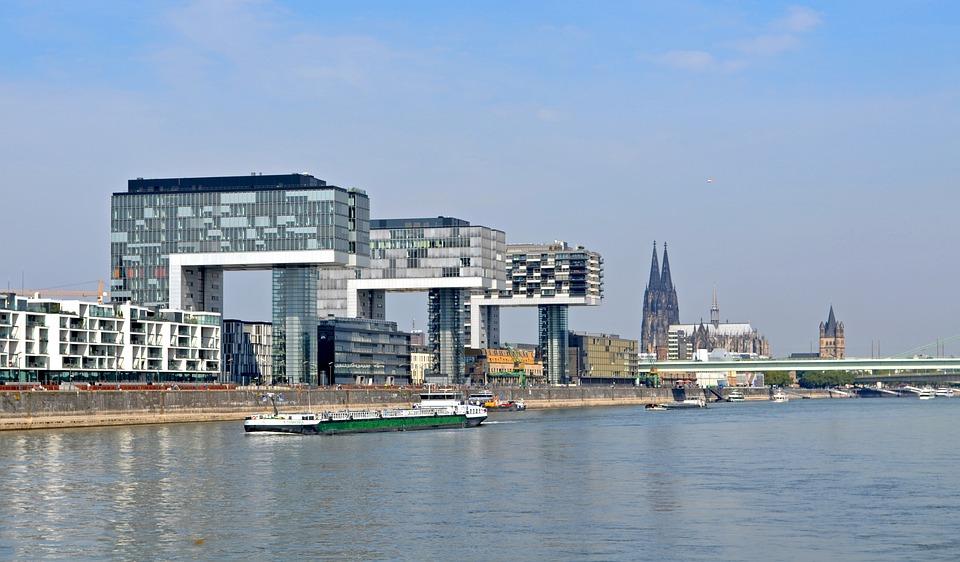 Cologne, Crane Homes, Landmark, Rhine River