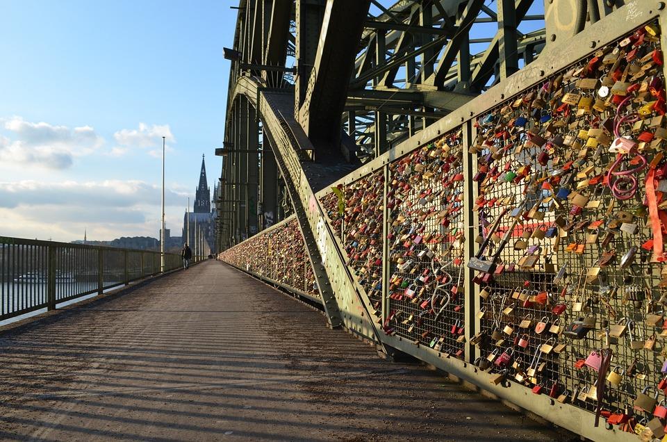 Cologne Panorama, Hohenzollern Bridge