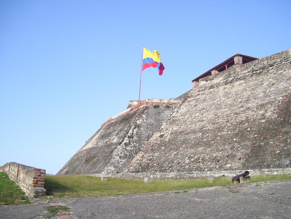 Cartagena, Colombia, Castle, Building, Architecture