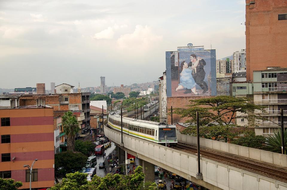 Medellin, Colombia, Train, Metro, Seemed, Railway