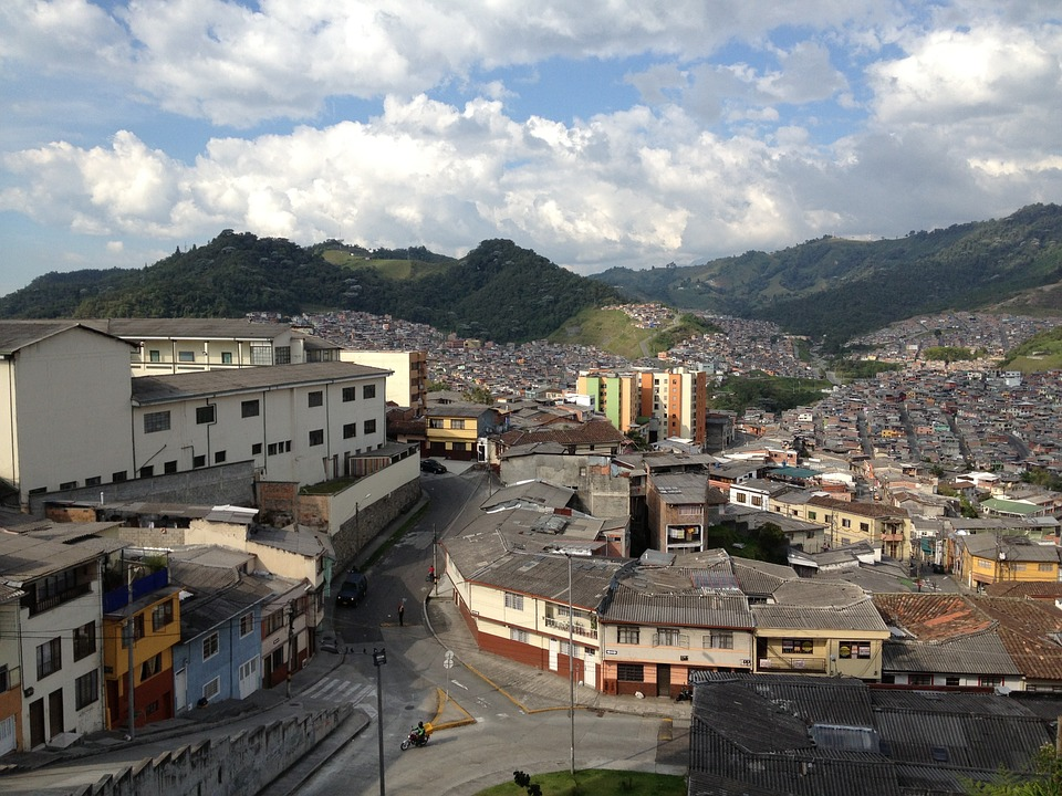 City, Manizales, Colombia, South, America