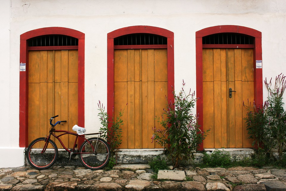 Paraty, Bike, Colonial Architecture, Stone Street