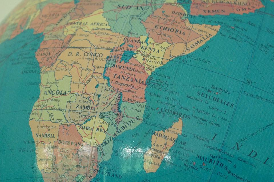 Tanzania On Africa Map.Free Photo Colonial British Tanzania Africa Map Globe Max Pixel