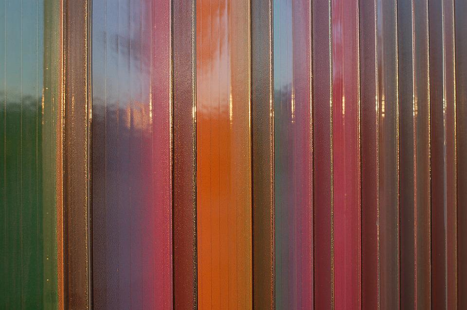 Fence, Abstract, Color, Background, Colorful