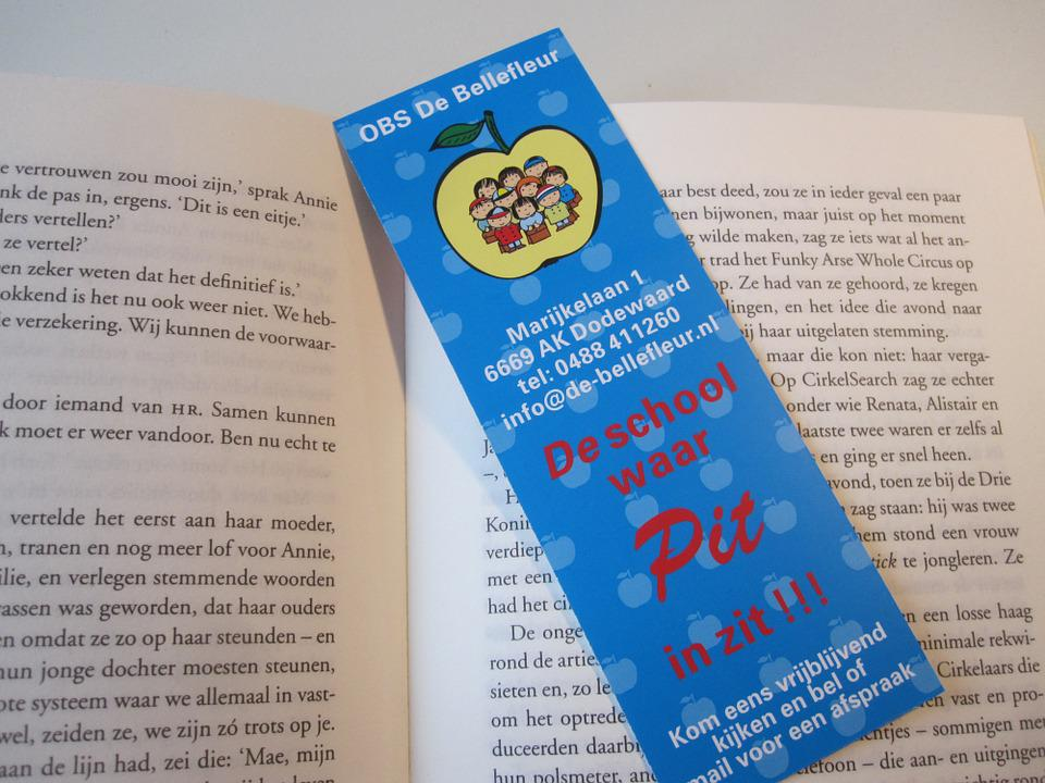 Free photo Color Book Blue Library Book Mark Read Books - Max Pixel