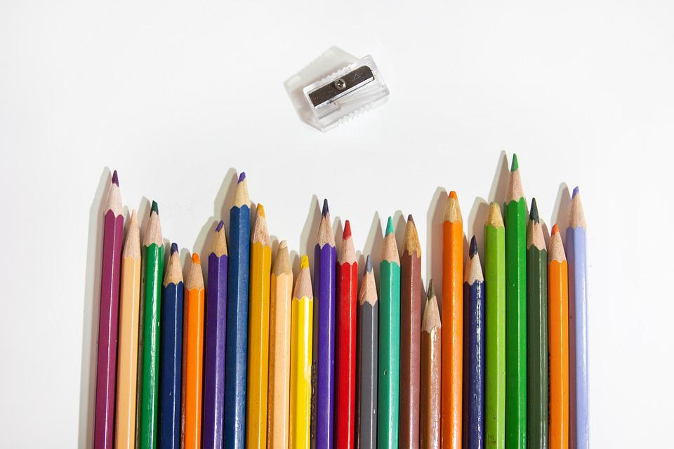 Many Colors, Pencils, Color, Stationery, Colored