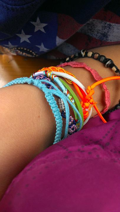 Bracelet, Jewellery, Decorative, Color, Colorful