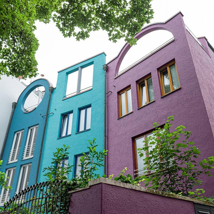 Architecture, Color, House, Building, Colorful, Window