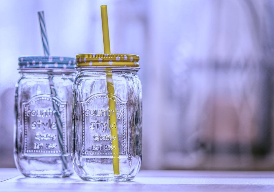 Drinking Glasses, Straw, Drink, Glass, Color