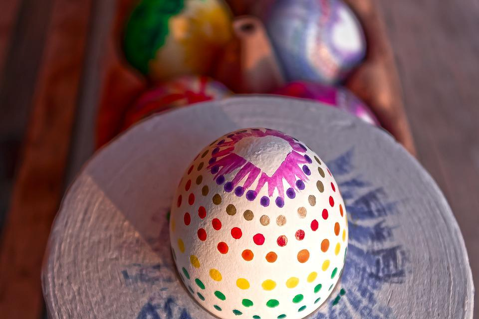 Egg, Colorful, Easter Eggs, Easter, Paint, Color