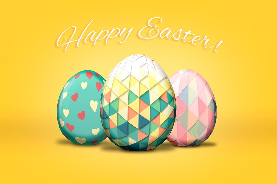 Easter, Eggs, Greetings, Happy, Easter Egg, Color